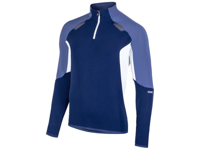 UYN Move Vetoketjullinen Pusero Miehet, deep blue/indigo/off white